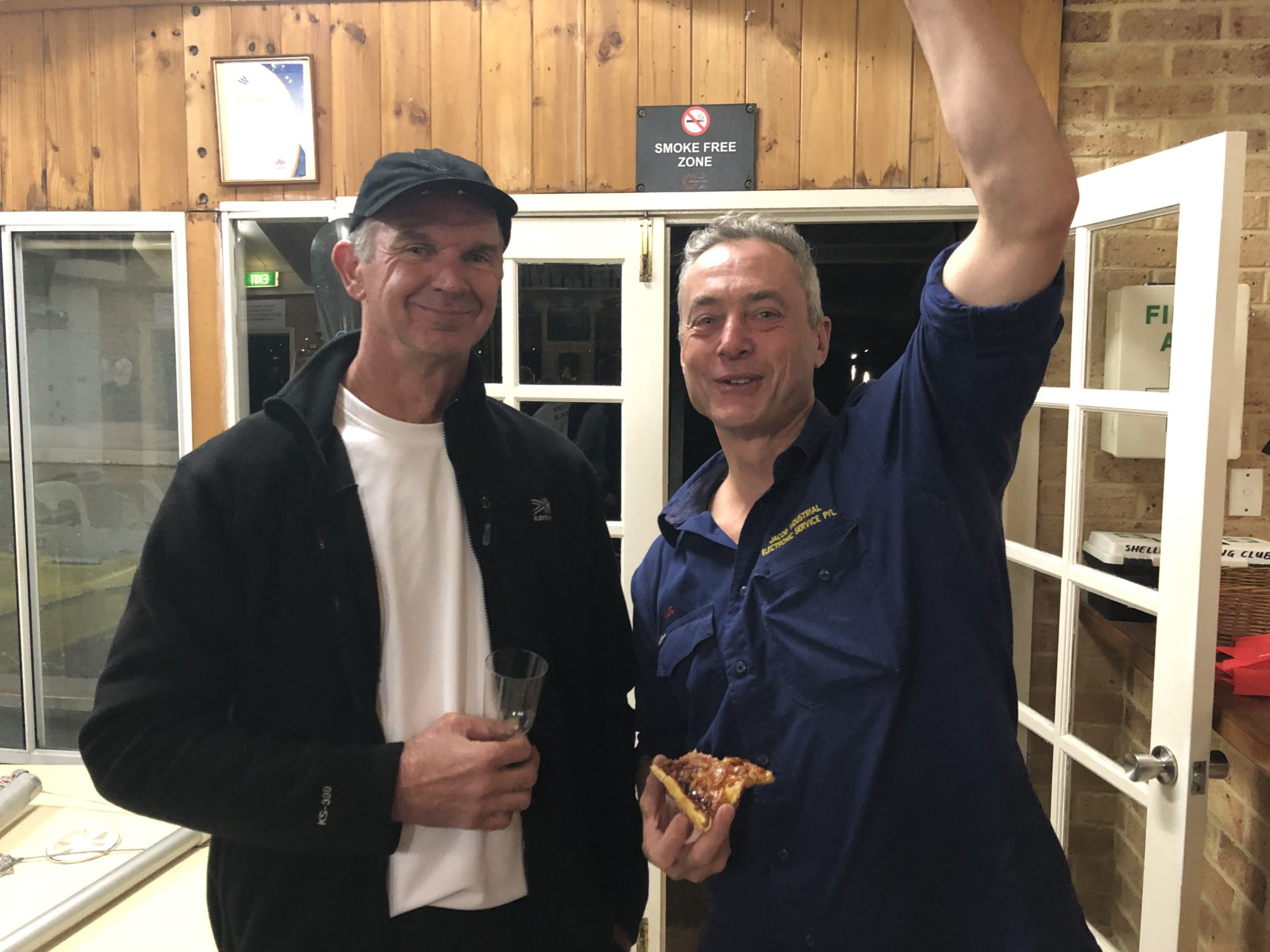 Tuesday 2nd July 2019 : Tonight's photo shows club member Luc Jacob presenting Dave MaCauley with the winners movie voucher.