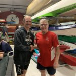 Tuesday 8th October 2019 :Tonight's photo shows club member Mike Laloli presenting David Gardiner with the winners movie voucher.