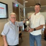 2018/19 Presidents Cup winner Dave MCCauleyDave MACauley